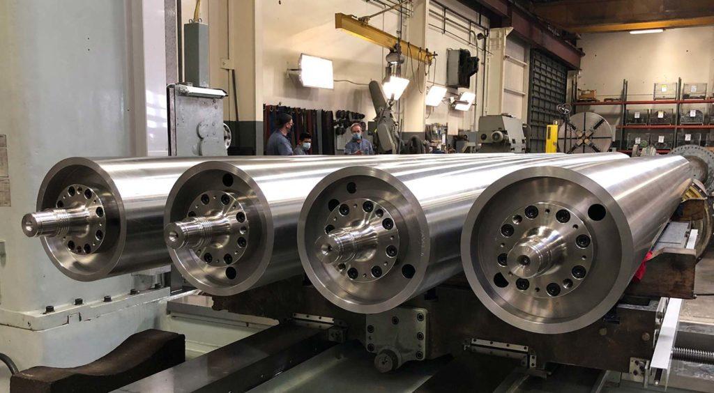 new precision roll manufacture