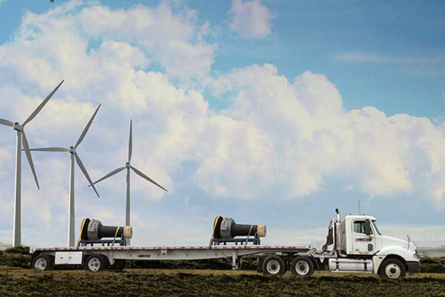 wind turbine shaft project management delivery