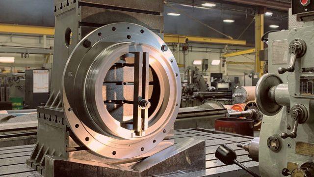 Industrial Machine Shop Western Machine Works