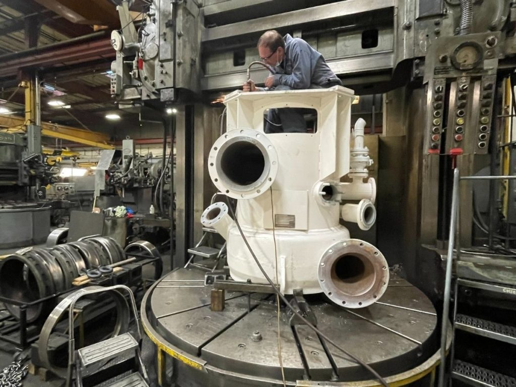 knotter-assembly-machining
