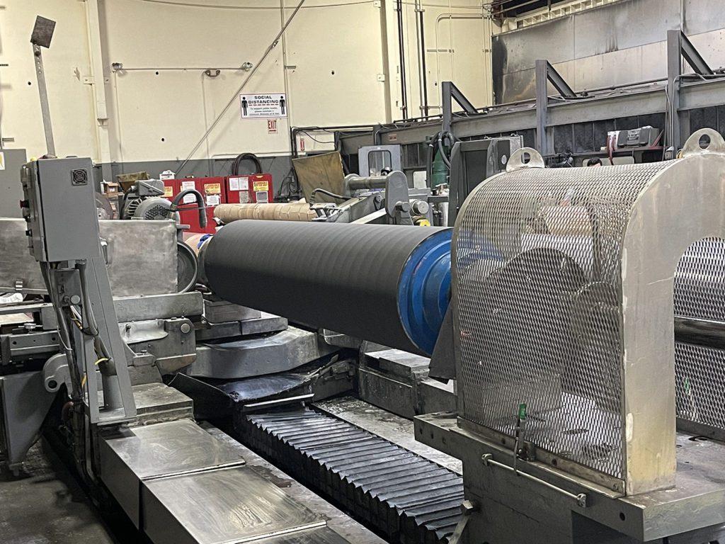 Precision Grinding Press Rolls