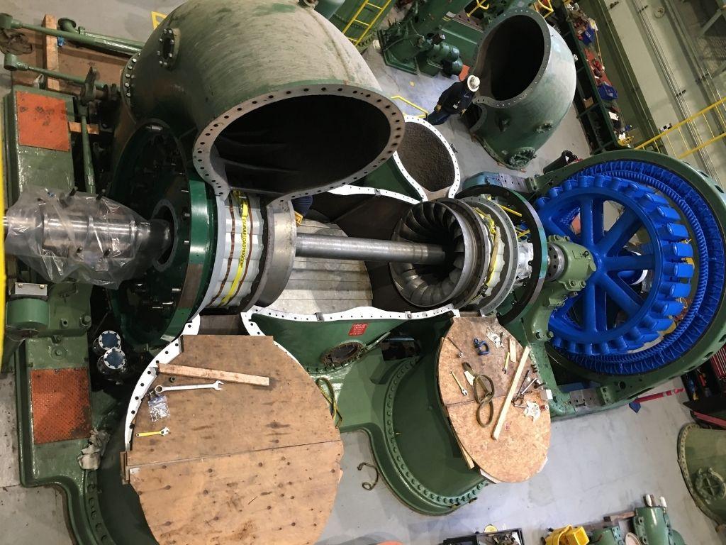 hydro turbine repair
